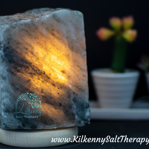 Black Rock salt Lamp